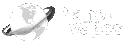 Planet of The Vapes, Edmonton Vape Shop Logo